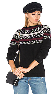 Neck knit detail sweater - ANINE BING
