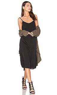 Шелковое платье-комбинация - Assembly Label