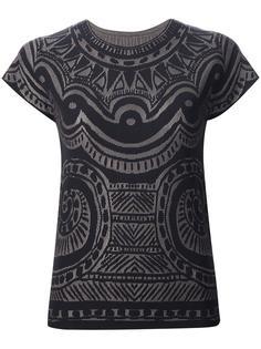 футболка 'A-Poc' Pleats Please By Issey Miyake