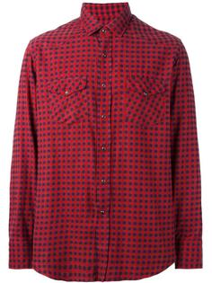 клетчатая рубашка Salvatore Piccolo