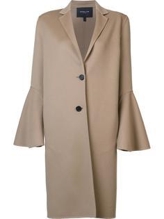 пальто с расклешенными рукавами Derek Lam