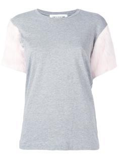 футболка с отделкой на рукавах Comme Des Garçons Girl