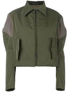 укороченная куртка с широкими рукавами Yohji Yamamoto