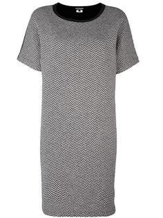 платье-футболка с контрастной спиной Junya Watanabe Comme Des Garçons