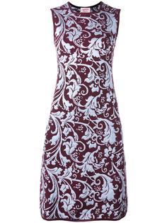 платье с барочным узором Lanvin