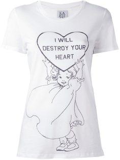 футболка с принтом Zoe Karssen