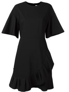 асимметричное платье с рюшами Tibi