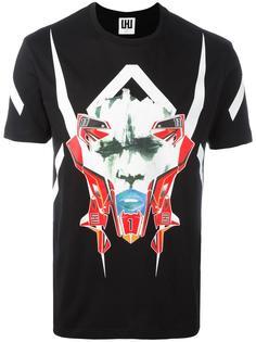 футболка с принтом маски Les Hommes Urban
