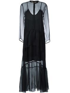 платье в горошек  Petar Petrov