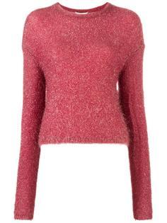 свитер с круглым вырезом   Tibi