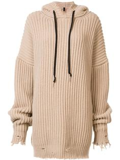 ribbed oversized hoodie Unravel Project
