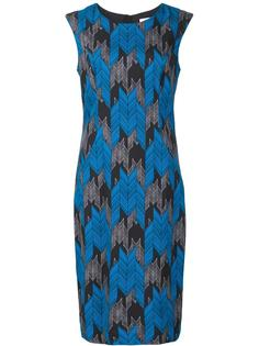 jacquard fitted dress Milly