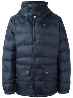 куртка-пуховик на молнии с капюшоном Ea7 Emporio Armani