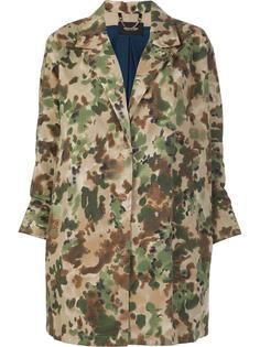 пальто с камуфляжным принтом Rachel Comey