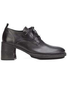 ботинки Дерби на массивных каблуках Ann Demeulemeester