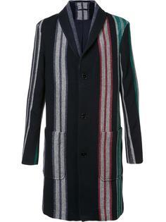 полосатое пальто  Carven