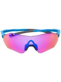 спортивные солнцезащитные очки с зеркальными линзами Oakley