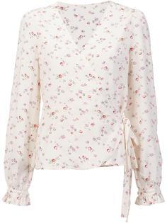блузка с цветочным принтом Ines De La Fressange