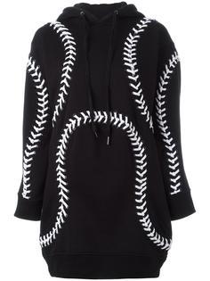 платье-толстовка с капюшоном 'Baseball' KTZ