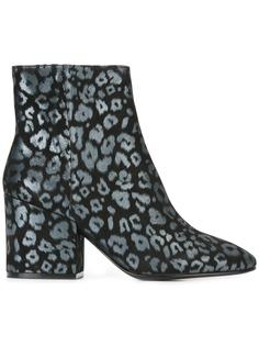 ботинки с леопардовым узором Ash