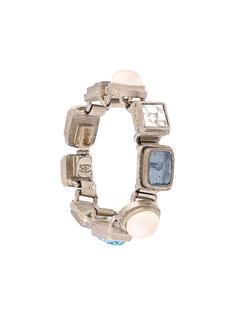 браслет с кристаллами Chanel Vintage