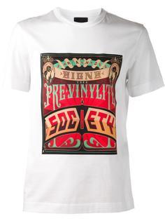 футболка с графическим принтом Juun.J