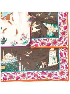 шарф с графическим принтом  Salvatore Ferragamo