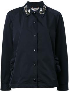 пиджак с декорированным воротником Muveil