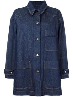 джинсовая куртка свободного кроя Mm6 Maison Margiela