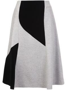 patchwork a-line skirt Derek Lam