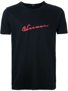 футболка с принтом heaven Hl Heddie Lovu