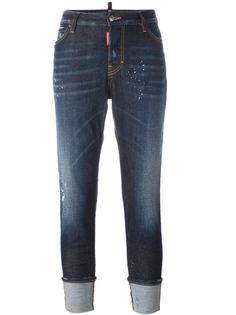 джинсы 'London' с брызгами краски Dsquared2