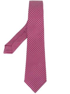 галстук с узором Kiton