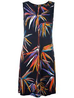 платье с принтом птиц Emilio Pucci