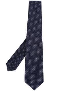 жаккардовый галстук Kiton