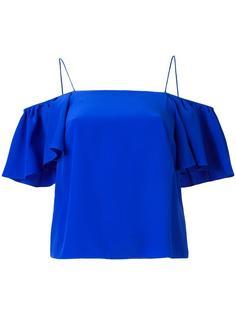 блузка с открытыми плечами Fendi