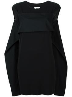 платье объемного кроя Mm6 Maison Margiela
