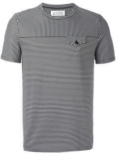 футболка с контрастной полоской Maison Margiela