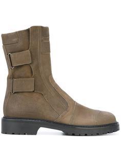 ботинки на молнии с ремешками A.F.Vandevorst