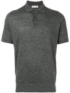 футболка-поло с короткими рукавами Brunello Cucinelli