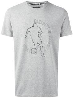 футболка с принтом логотипа Dirk Bikkembergs