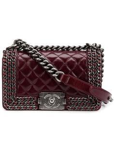 мини сумка на плечо 'Boy'  Chanel Vintage