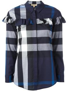 рубашка в клетку Burberry
