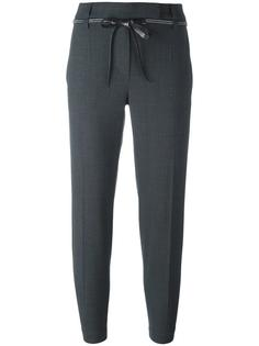 укороченные строгие брюки Brunello Cucinelli