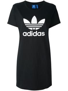 платье-футболка 'Trefoil' Adidas Originals