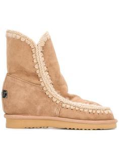 ботинки 'Eskimo' на потайной платформе Mou