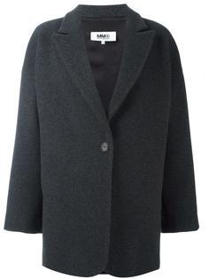 пальто на одной пуговице Mm6 Maison Margiela