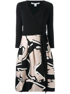 платье с V-образным вырезом и запахом Diane Von Furstenberg