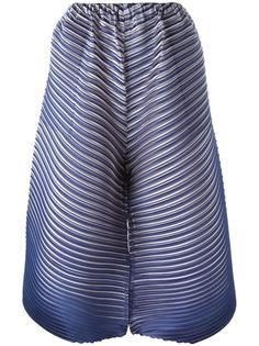 укороченные плиссированные брюки Pleats Please By Issey Miyake