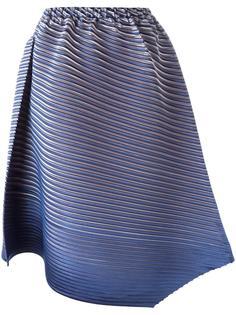 асимметричная плиссированная юбка Pleats Please By Issey Miyake